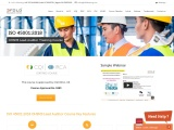 IRCA Certified ISO 45001:2018 OHSMS Lead Auditor Online Training Course