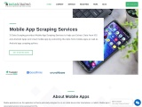 Mobile App Data Scraping Services