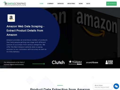 Amazon Web Data Scraping | Extract Product Details from Amazon