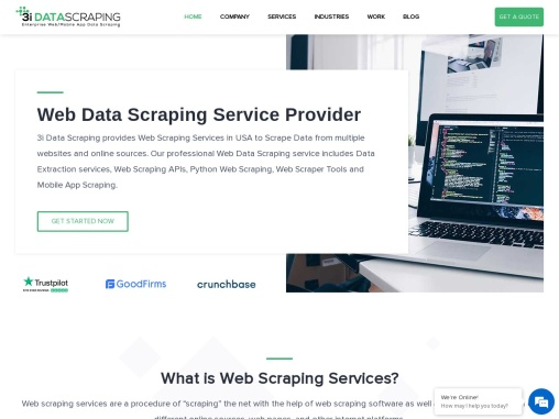 Web Scraping Services | Data Extraction Services