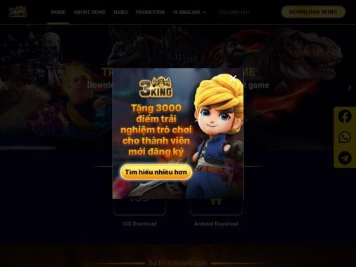Online gambling card games |  Shooting fish game – 3King Vietnam.