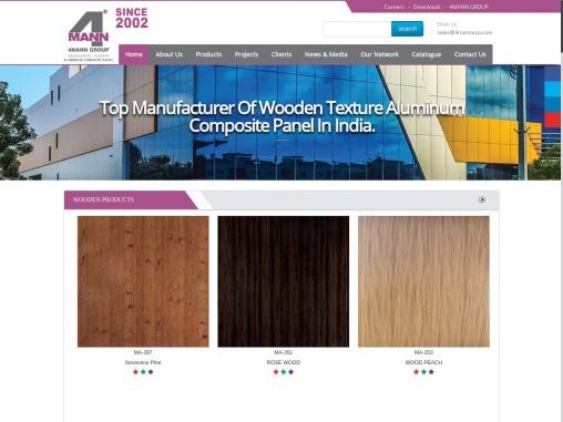 Wooden Texture Aluminium Composite Panel, Manufacturers, Supplier, India