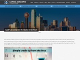 SIMPLE CREDIT TIP FROM THE PROS | Capital Concepts