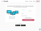 Sign Up to create your EHR | 75Health