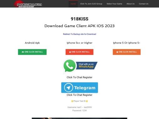 918Kiss & MEGA888 Game Free Download IN MALAYSIA