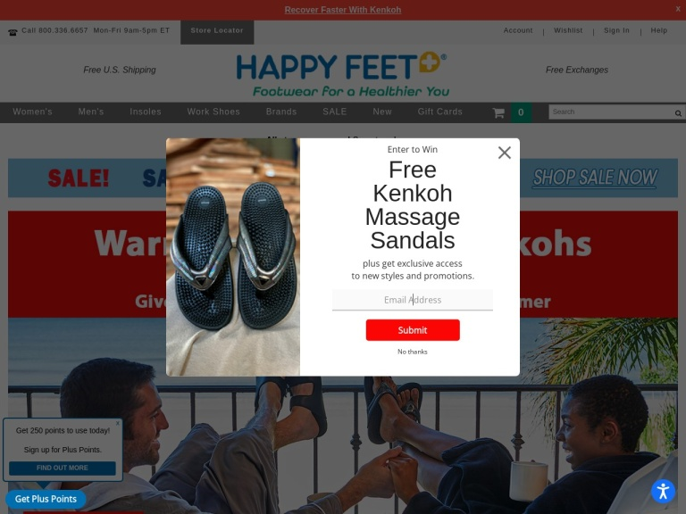 Happy Feet Plus screenshot