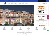 WTC Retail Space in Mathura Road, Faridabad