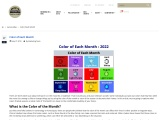 Color of Each Month