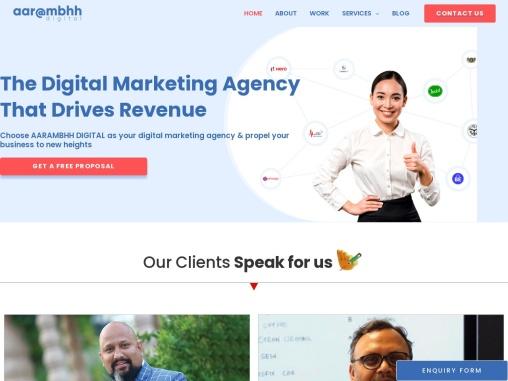 Best Digital Marketing Agency in Noida – Aarambhh Digital