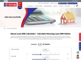 Home Loan EMI Calculator – Calculate Housing Loan EMI Online