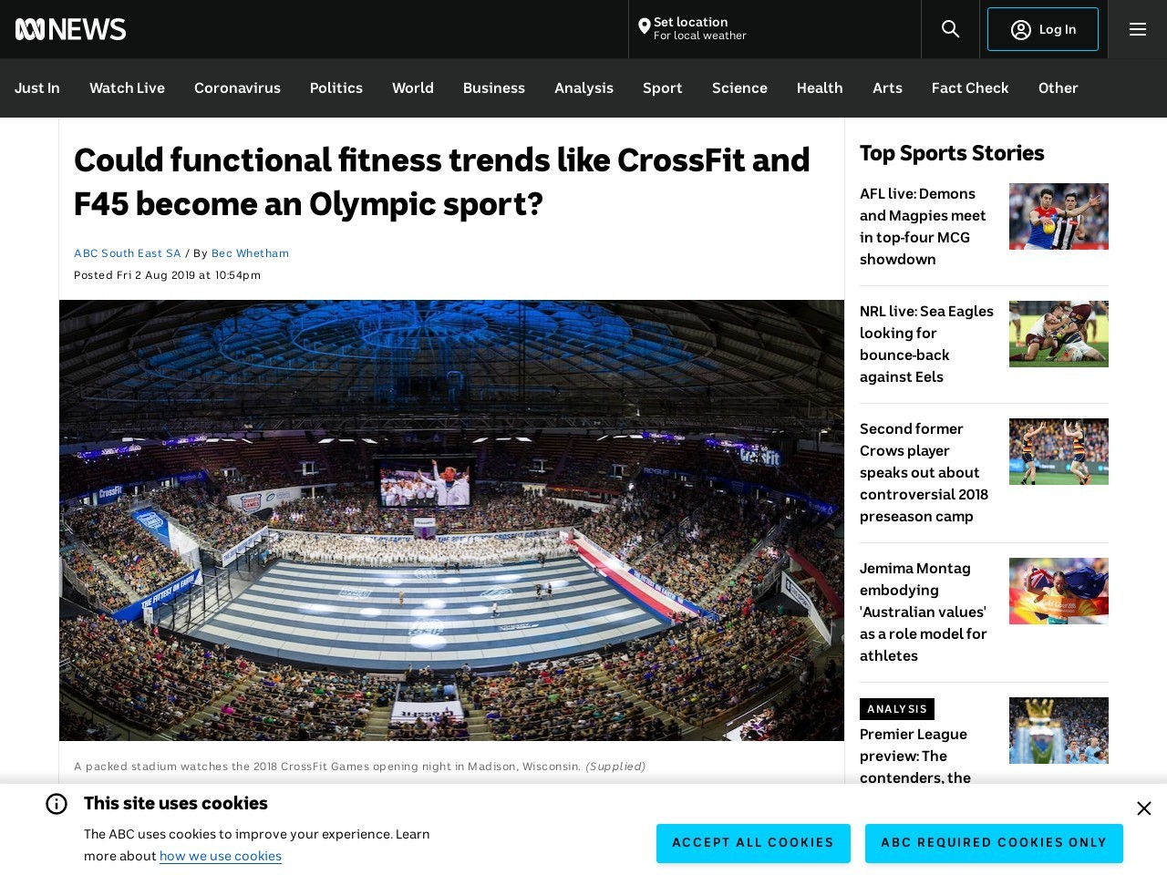 Could functional fitness trends like CrossFit and F45 become an…