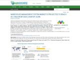 WAREHOUSE MANAGEMENT SYSTEM MARKET IS PROJECTED TO REACH $5.1 BILLION BY 2025 | CAGR OF 16.0%