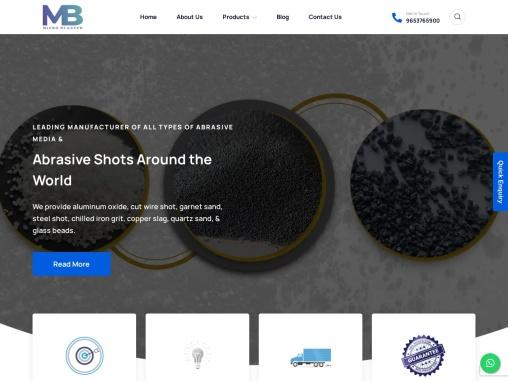 Steel Grit, Abrasive Shot, Garnet Sand, Aluminum Oxide – Leading Manufacture, Suppliers & Exporters