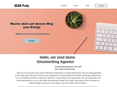 Ghostwriting Agentur