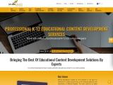 Educational Content Development Services