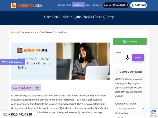 Complete guide to quickbooks closing entry.