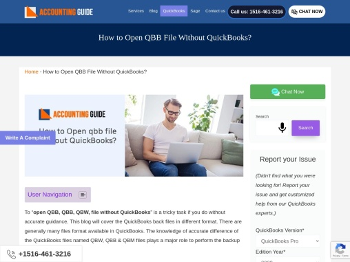 How to open qbb file without quickbooks?