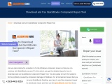 How to download and use quickbooks component repair tool?
