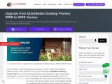 How to upgrade from quickbooks desktop premier 2008 to 2020.