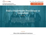Find a QuickBooks ProAdvisor or Consultant