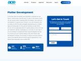 Flutter App Development Company USA – Ace Infoway