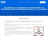 Ace Infoway named as a Top Mobile App Development Company in USA by Techreviewer