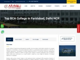 Top BCA College In Faridabad, Delhi NCR | Admissions Open 2021