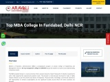 Top MBA College in Faridabad, Delhi NCR | Admissions Open 2021
