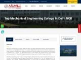 Top Mechanical Engineering College in Delhi NCR, Best ME College in Faridabad