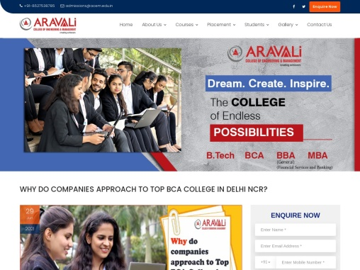WHY DO COMPANIES APPROACH TO TOP BCA COLLEGE IN DELHI NCR?