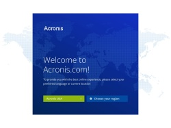 Acronis International Gmbh screenshot