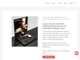 Custom Acrylic Displays | Luxury Makeup Display Vendor For Cosmetic Display