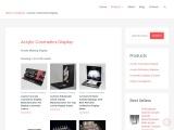 Custom Acrylic Displays | Bespoke Acrylic Cosmetics Display Vendor For Makeup Display