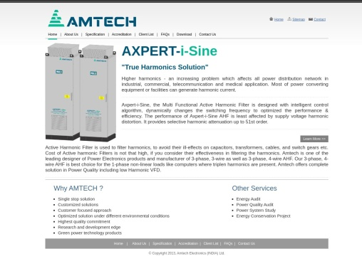 Amtech Active Harmonics Filter