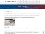 The Usage of Polyurethane (PU Flooring) in Industrial Flooring System