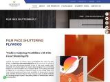 Buy Waterproof Shuttering Plywood