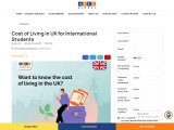 Cost of Living in UK for Indian students
