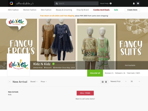 Online Shopping for kids | Online Shopping in Lahore | Online shopping in Pakistan