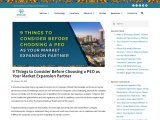 9 Things to Consider Before Choosing a PEO as Your Market Expansion Partner