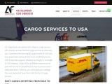 CARGO SERVICES TO USA with Easy Support
