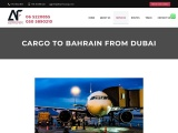 Bahrain Cargo Services from UAE