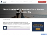 Wedding Insurance Costs – Agency Height