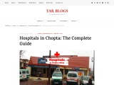 Hospitals in Chopta: The Complete Guide