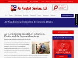 Air Conditioning Installation in Sarasota, FL
