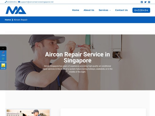 Aircon Repair Singapore & Troubleshooting Service at Low Cost
