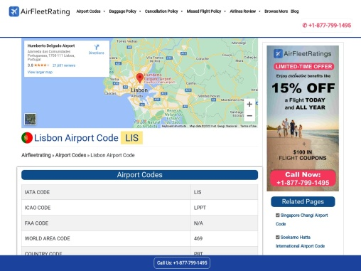 Find Out The Lisbon ICAO Codes.