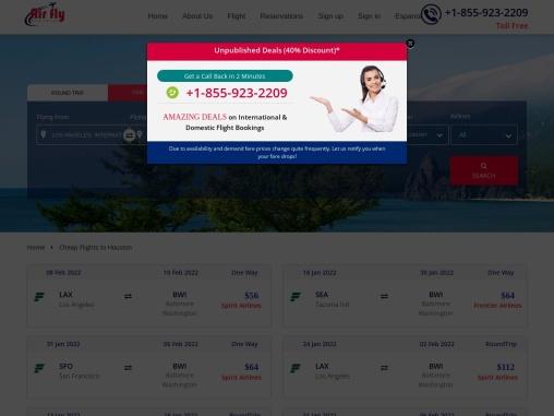 $40 – Cheap Flights to Washington MD in 2021