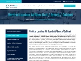 Vertical Laminar Airflow Unit Manufacturer in India