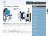 Sand blasting machine manufacturer's in India | sand blaster price in India