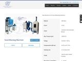 Sand blasting machine for sale | sand blasting machine manufacturer